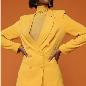 Tops - Yellow blazer